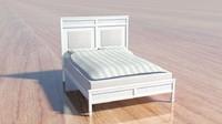 Charlston Bay White bed