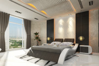 3ds italian leather bed casanova