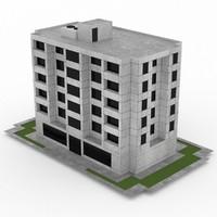 3d office build 40 model