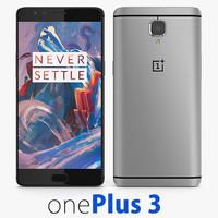 3d model oneplus 3