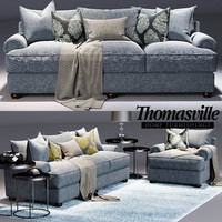 Thomasville Portofino sofa and  Portofino Armchair