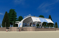 Restaurant Open Beach