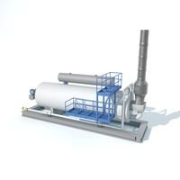 Gas expansion tank