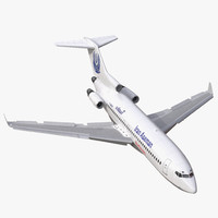 boeing 727 100 private 3d max