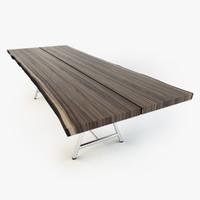 3d model riva table tavola