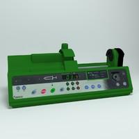 3d model syringe driver