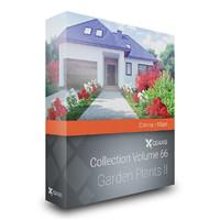 volume 66 garden plants 3d x