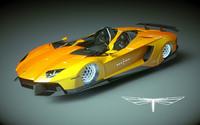 lamborghini aventador j 3d model