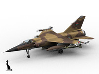 3d model of dassault mirage f1 kuwait