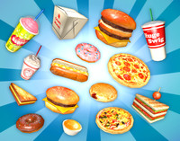 Fast Food Heaven Pack