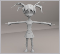 3d rigged animations
