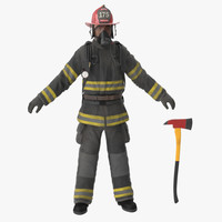 Firefighter Black Suite