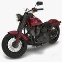 cruiser motorcycle 3D models