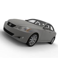 lexus 3d model