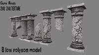 3d pillar 2 model