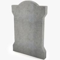 3d model of grave