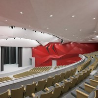 Theater Interior 1200 seats