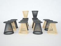 fan stool 3ds