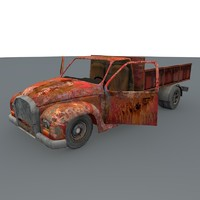 3d pickup games ready model