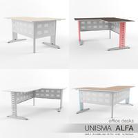 office desks unisma alfa max