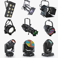 Stage lighting collection v3