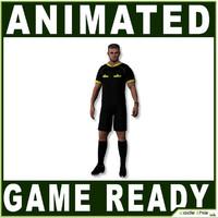 3d model ref referee