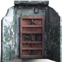 bomb entrance 3d model