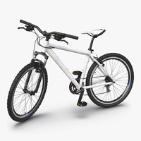 Mountain Bike Generic 2 Rigged