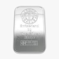 silver bar 5g 3d 3ds