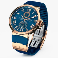 3d wrist watch ulysse nardin