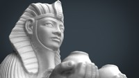 egypt sphinx 3d max