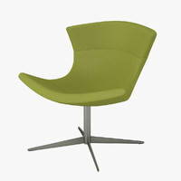 halle jet chair 3d max