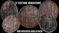 pack shield 3d model