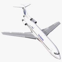 3d boeing 727-200 iran aseman