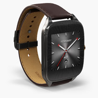 asus zenwatch 2 wi501q 3d model