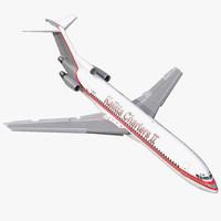 boeing 727-200 kalitta air 3d max