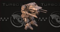 3d model robot lihoded