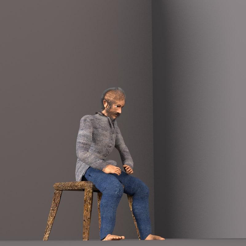 silas on stool.jpg