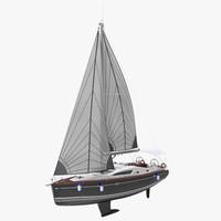 3d model sailing yacht
