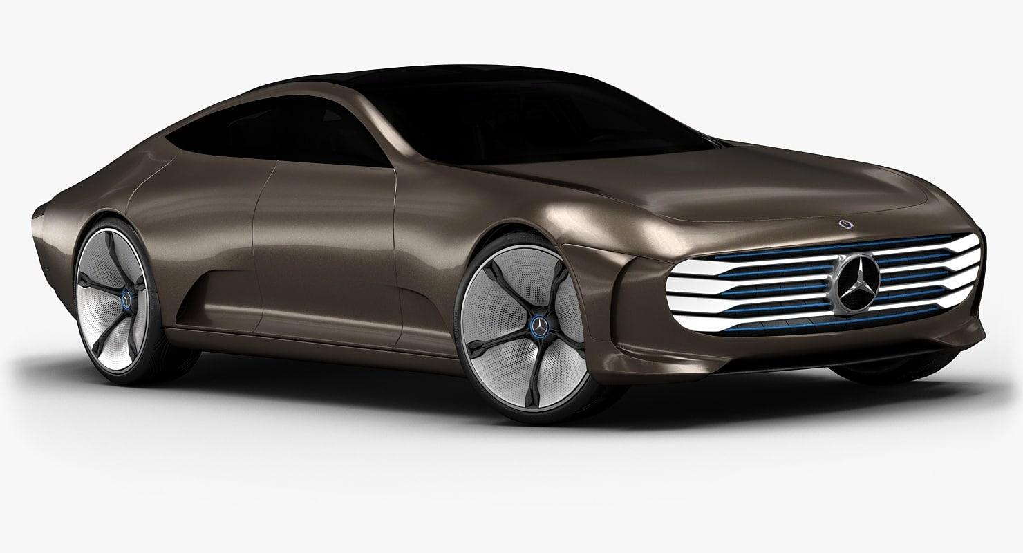 3d model 2015 mercedes benz iaa concept for Mercedes benz 2015 models