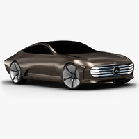 3d model 2015 mercedes-benz iaa concept