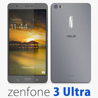 3d model asus zenfone 3 ultra