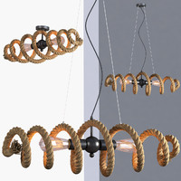 loft industrial lamps rope max