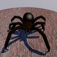 spider modified 3d fbx