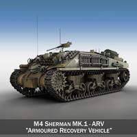 3ds m4 sherman arv mk