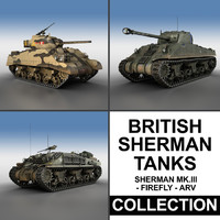 british sherman - 3d 3ds