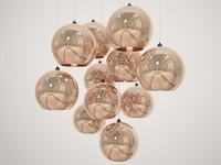 Copper Shade pendant light