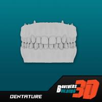 dentature 3d model