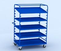 3d table cart