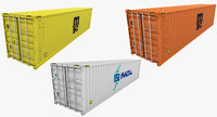 industrial container set 3d max